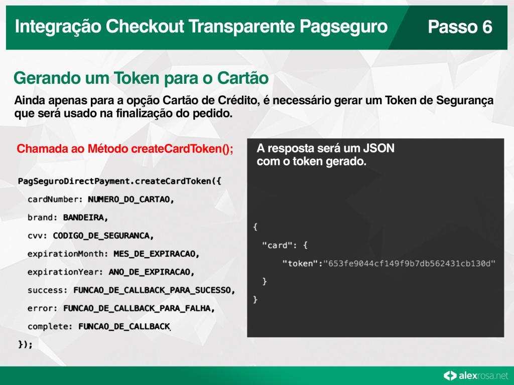Checkout Transparente Pagseguro